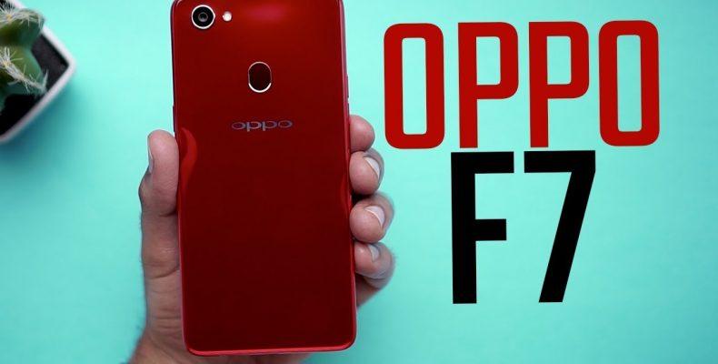 Oppo F7: стильный «безрамочник» с фронтальной камерой на 25 Мп