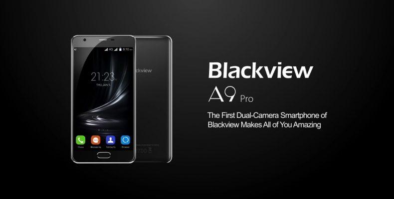 Мощный Blackview A9 Pro с двойной камерой за 87$