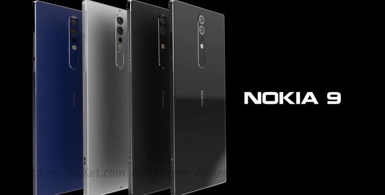 Nokia 9 показали на официальных фото