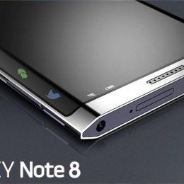 Свежие подробности о будущем Samsung Galaxy Note 8