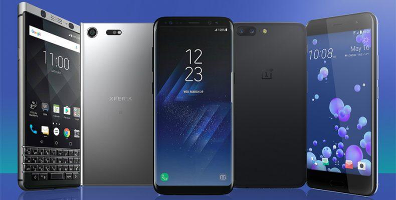 Лучшие смартфоны в 2018