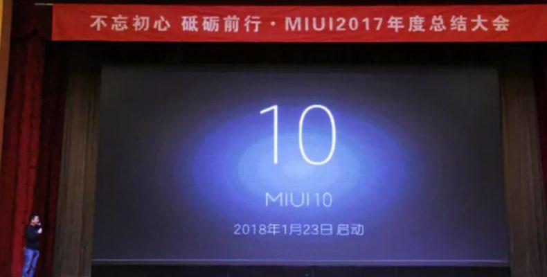 Xiaomi анонсировала разработку ОС MIUI 10
