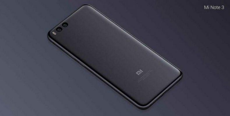 Xiaomi Mi Note 3 — почти Mi 6, только больше!