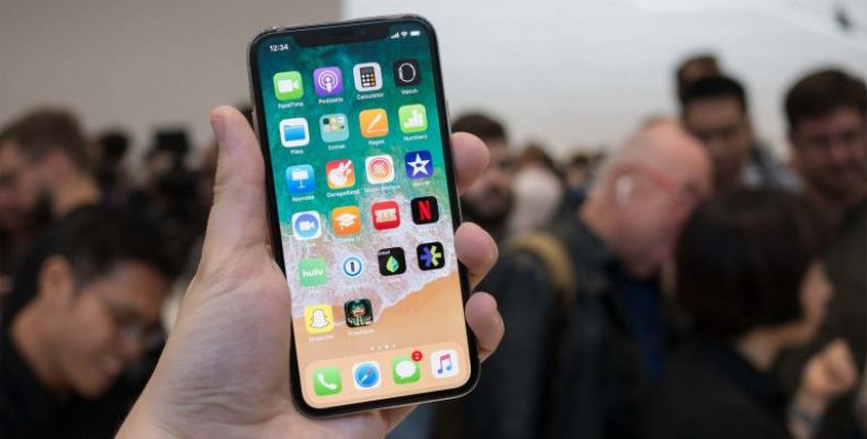 Как выглядят сайты на экране iPhone X