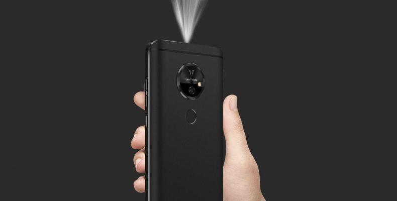 Смартфон-проектор Moviphone или новые подробности CES 2018